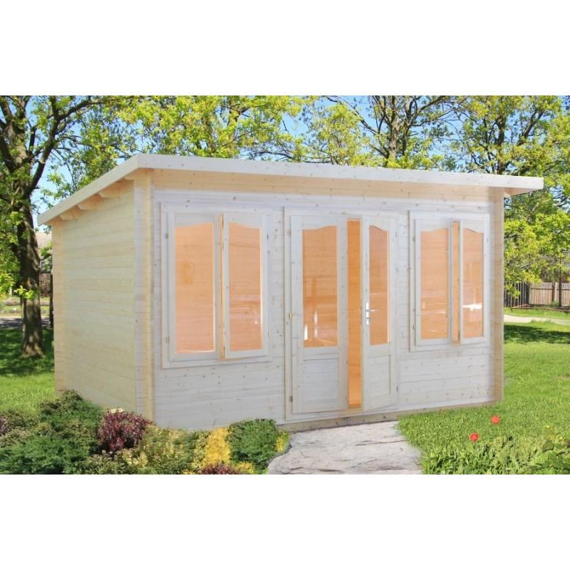 Lisa vente de abris en bois sur internet - Abri de jardin 5m2 ...